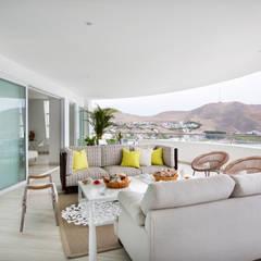 Terraza: Terrazas de estilo  por Carughi Studio