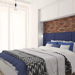 z nutą hiszpanii : styl , w kategorii Sypialnia zaprojektowany przez Twój Kwadrat