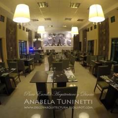 Ringo Restaurant: Gastronomía de estilo  por Anabela Tuninetti - Deco & Vanguardia
