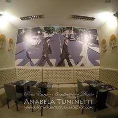 Ringo Restaurant: Bares y Clubs de estilo  por Anabela Tuninetti - Deco & Vanguardia