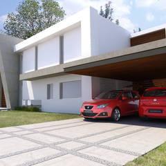 Casas de estilo  de AParquitectos, Moderno