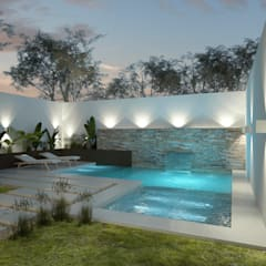 Piletas Ideas Imagenes Y Decoracion Homify - Decoraciones-de-piscinas