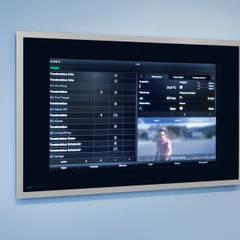 Gira Control 19 Client :  Multimedia-Raum von Klaus Geyer Elektrotechnik