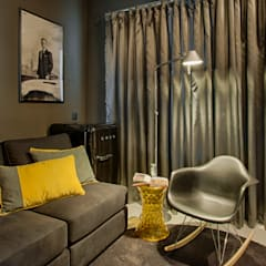 Casa de Praia : Salas multimédia  por Santiago | Interior Design Studio