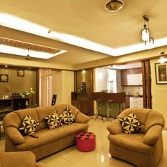 house interiors :  Corridor & hallway by The creative axis