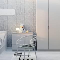 Pokój dla dziecka.: styl , w kategorii Pokój dziecięcy zaprojektowany przez NUKO STUDIO
