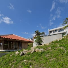 Na-house: 門一級建築士事務所が手掛けた庭です。