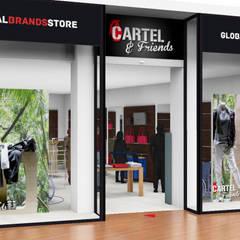 Cartel & Friends: Centres commerciaux de style  par BODDAERT INTERIEUR