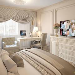 Классическая спальня: Спальни в . Автор – Елена Марченко (Киев)