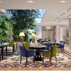 """Ресторан """"Sky Garden"""": Ресторации в . Автор – Sweet Home Design, Тропический"""