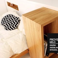 Modern style bedroom by PANAL Modern