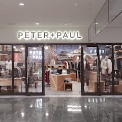 PETER + PAUL: (주)팀웍디자인의  상업 공간