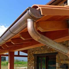 Vivienda en Broño: Terrazas de estilo  de AD+ arquitectura