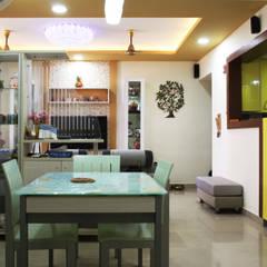 غرفة السفرة تنفيذ Ashpra Interiors
