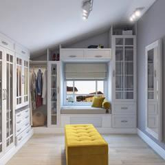 Dressing room by студия визуализации и дизайна интерьера '3dm2'