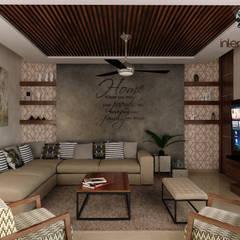 Sala: Salas de estilo  por Interiorisarte