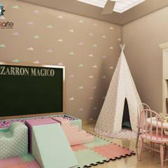 Residencia MR : Recámaras infantiles de estilo  por Interiorisarte