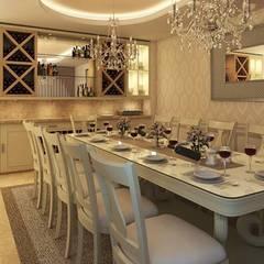 Comedor y Terraza : Comedores de estilo  por Interiorisarte , Clásico