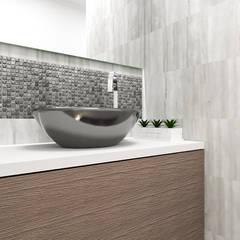 Diseño Baño: Baños de estilo moderno por LUOVA Interiorismo