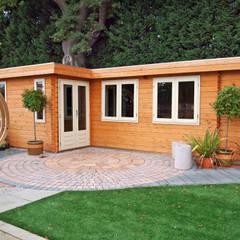 Log Cabin:  Garden by Garden Affairs Ltd