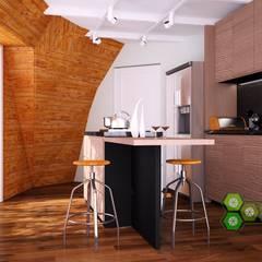 domo newen: Cocinas de estilo  por smart domos