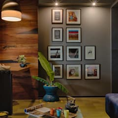 Reception area:  Study/office by RUST the design studio