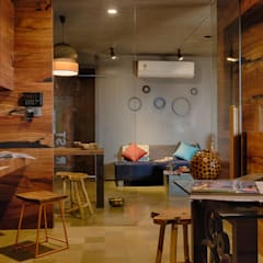 Staff area:  Study/office by RUST the design studio