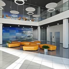 Примеры оформления холла.: Торговые центры в . Автор – Design studio of Stanislav Orekhov. ARCHITECTURE / INTERIOR DESIGN / VISUALIZATION.
