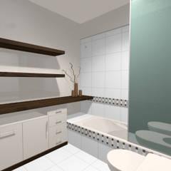 baño principal: Baños de estilo  por laura zilinski arquitecta