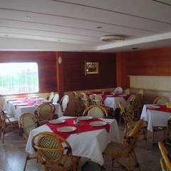 Restaurante de Mariscos.: Restaurantes de estilo  por Herycam Arq Actual SA de CV