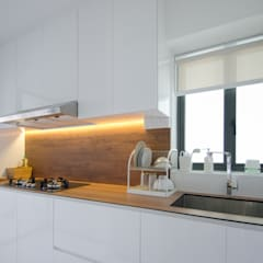 BTO Dawson:  Kitchen by Designer House,Modern