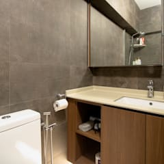 BTO @ Punggolin Hotel Style:  Bathroom by Designer House