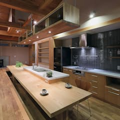 eclectic Kitchen by ATELIER N