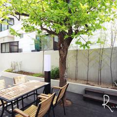 minimalistic Garden by 로하디자인