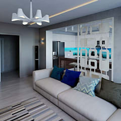 Дизайн интерьера квартиры: Гостиная в . Автор – hq-design