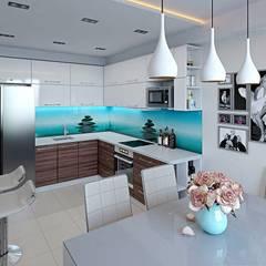 Дизайн интерьера квартиры: Кухни в . Автор – hq-design