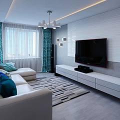 гостиная: Гостиная в . Автор – hq-design
