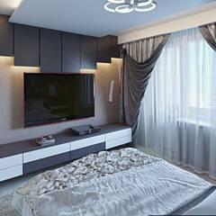 Дизайн интерьера квартиры: Спальни в . Автор – hq-design