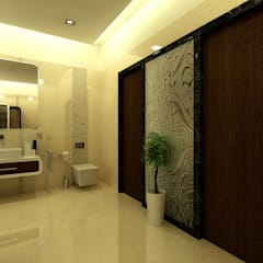 Mr.Javed:  Bathroom by Shadab Anwari & Associates.