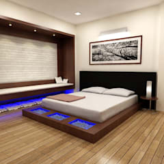 Bedroom by Shadab Anwari & Associates.