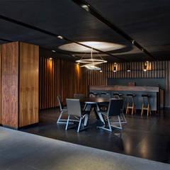 Canelos: Comedores de estilo  por RIMA Arquitectura, Moderno Concreto