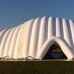 H2O Fitness Pavilion: Palestra in stile  di Kei_en.enzocalabresedesignstudio Srl
