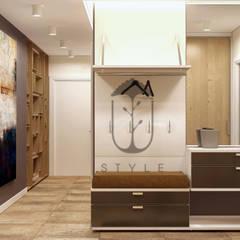 Прихожая в стиле минимализм: Коридор и прихожая в . Автор – U-Style design studio