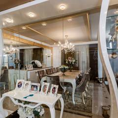 Mimoza Mimarlık – BILGE & AHMET SEZER EVI: klasik tarz tarz Yemek Odası