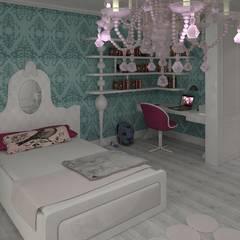 Mimoza Mimarlık – EVRIM & GUNAY ASLAN EVI:  tarz Çocuk Odası