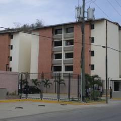 Edificaciones de tipo social: Habitaciones de estilo  por INVERSIONES NACSE S.A.S.