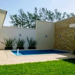 สวน โดย ARKOT arquitectura + construcción, โมเดิร์น