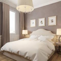 Спальня Alexander Krivov Спальня в классическом стиле Бежевый