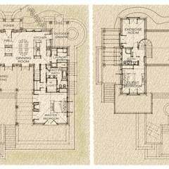 Planos de Azcona Vega Arquitectos Mediterráneo