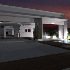 RESIDENCIA J.M: Casas  por Daiana Pasqualon Arquitetura & Urbanismo